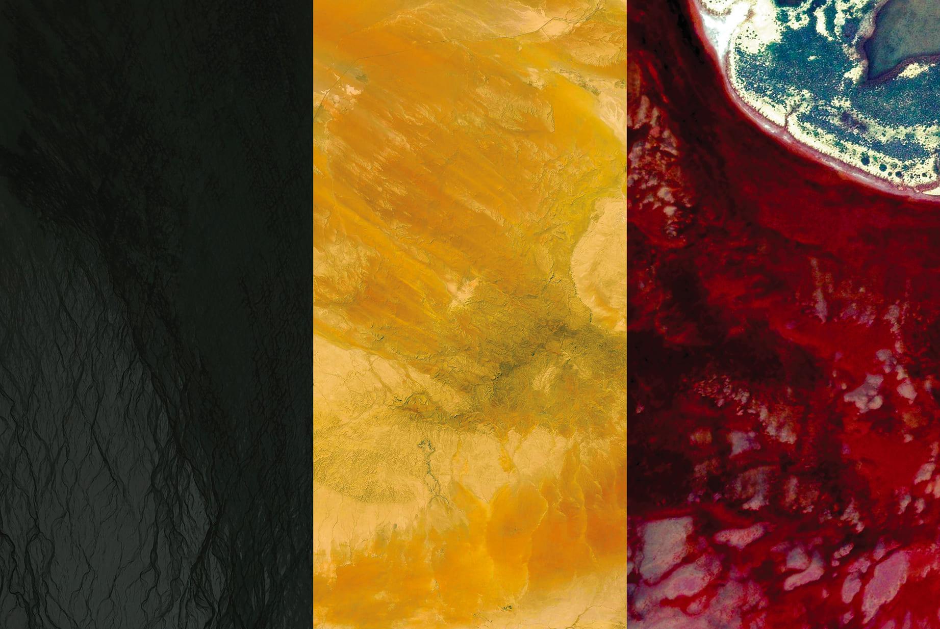 Belgium Earth Flag (Iceland, Syria, Australia), 2016, cm 67×100, 1/9