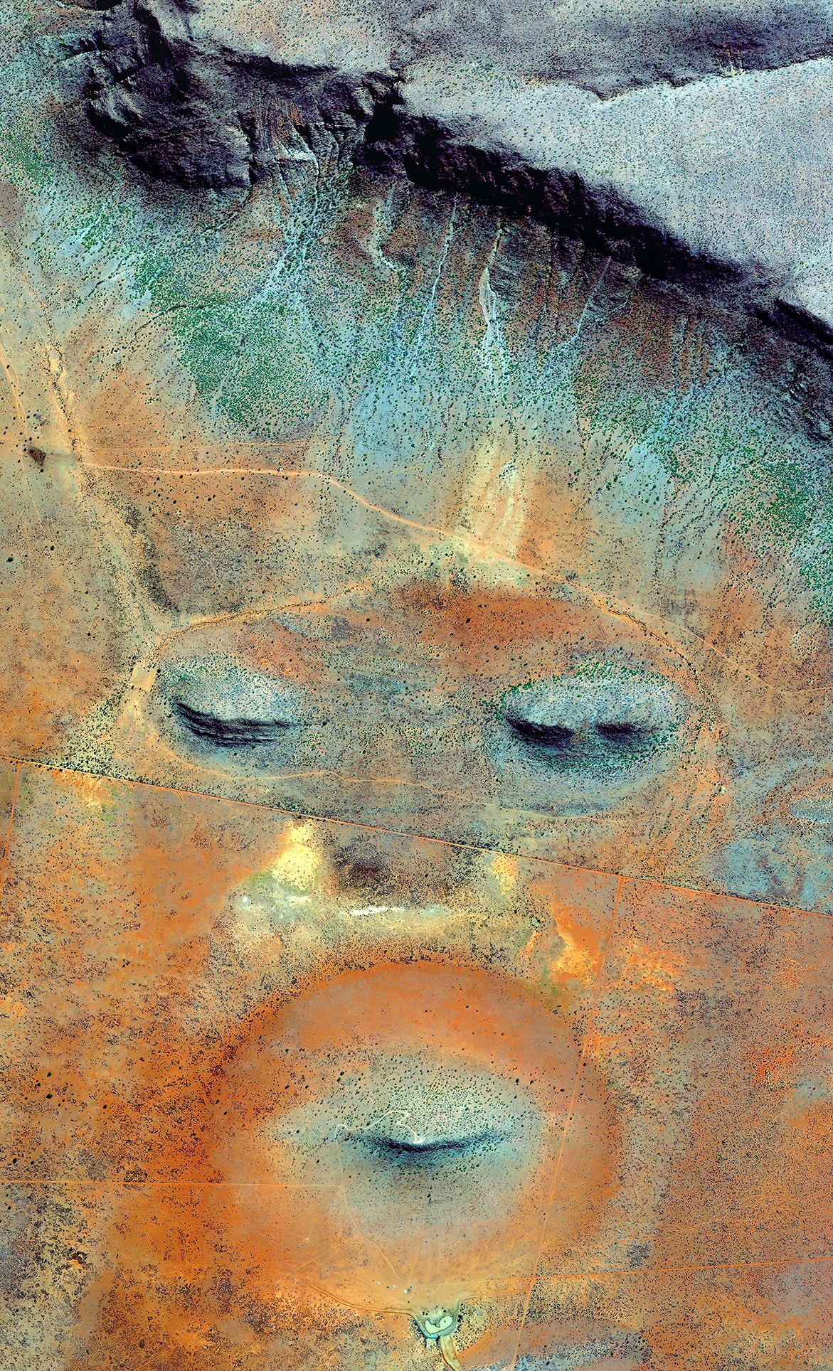 Earth Portrait 23 Namibia, 2016, cm 130×80, 1/9
