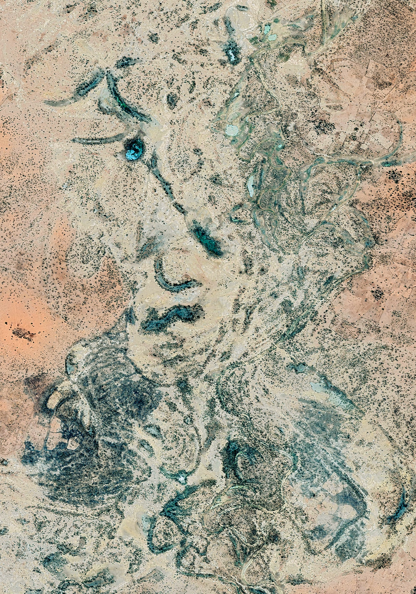 Earth Portrait 34 Nigeria, 2018, cm 100×70, 1/9
