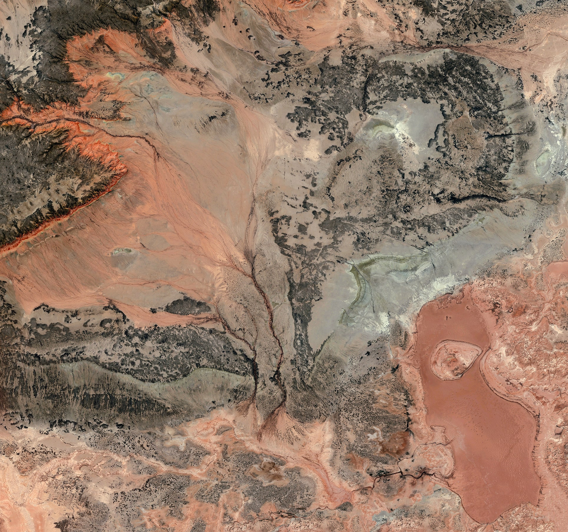Earth Portrait 7 Kazakhstan, 2015, cm 140×140, 1/9