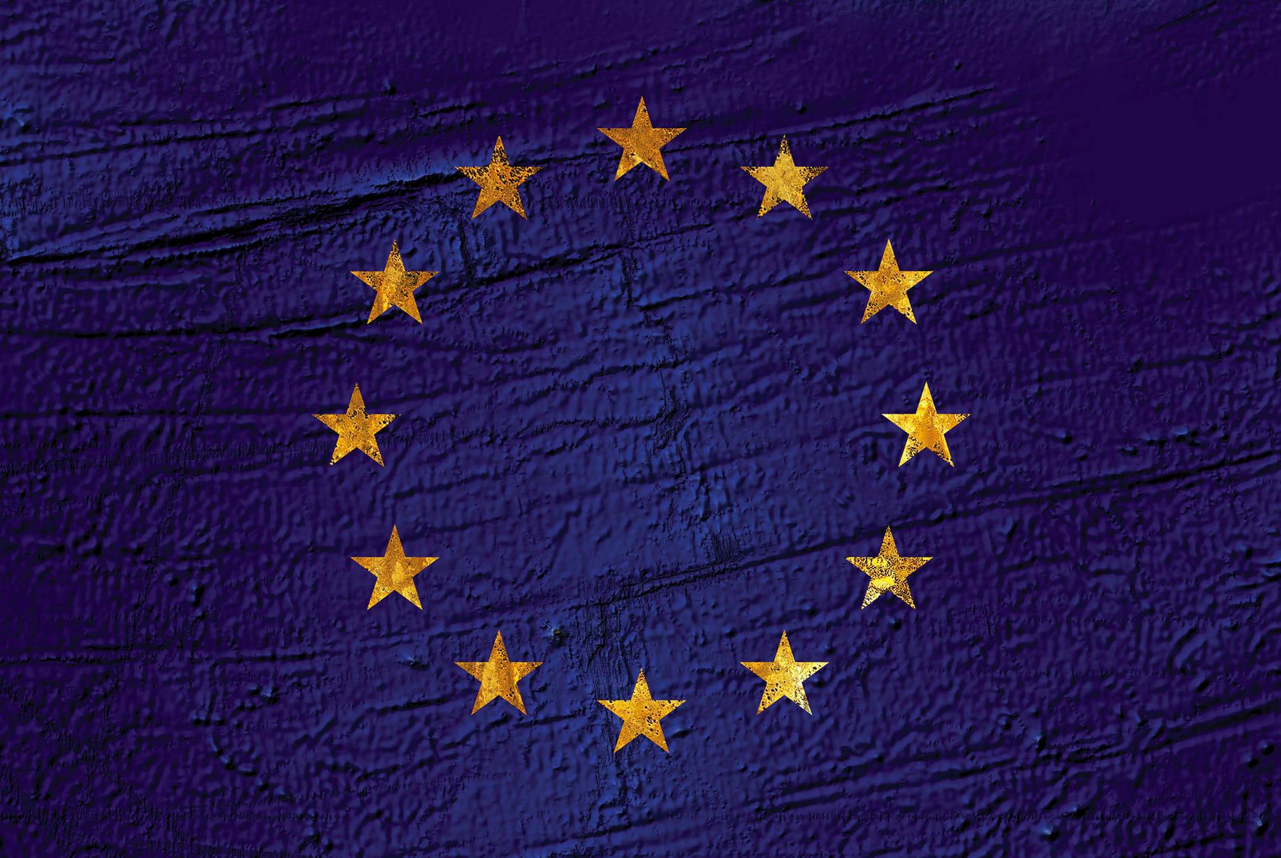 Europe Earth Flag (Atlantic Ocean, Australia), 2016, cm 67×100, 1/9