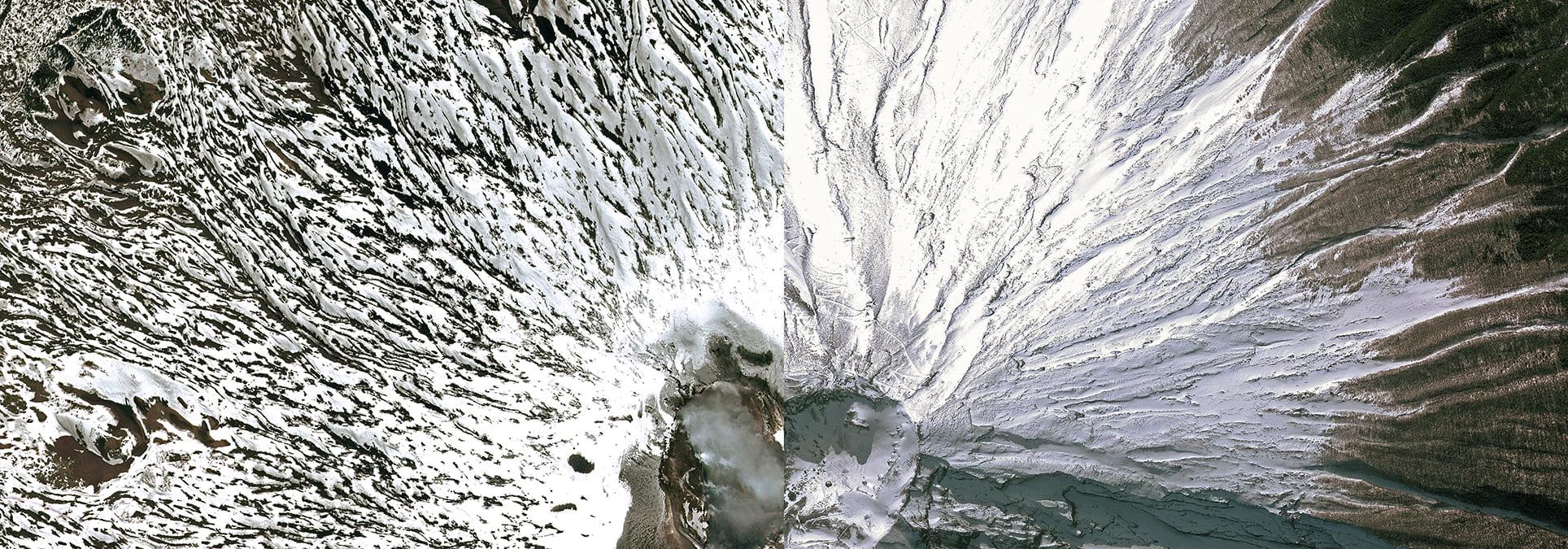 WLP 11 Etna-Fuji, 2012, cm 100×280, 1/9