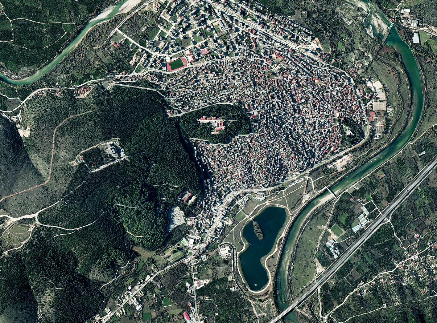 Human's City 12 Greece, 2020, cm 90×120