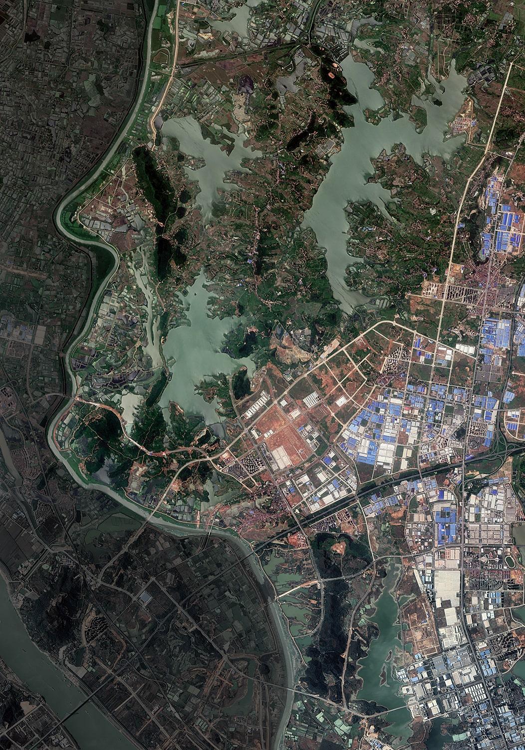 Human's City 9 Wuhan China, 2020, cm 150×105, 1:9